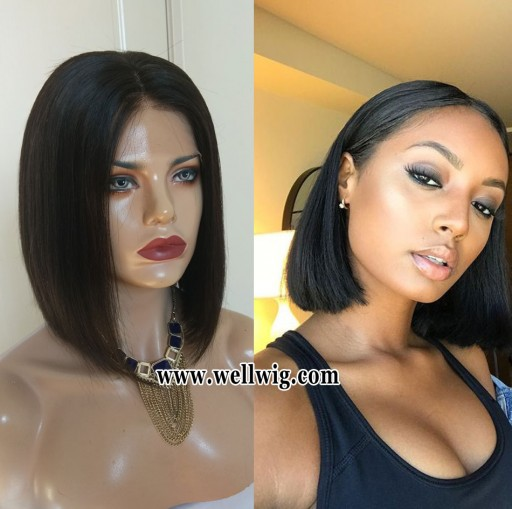 special sales 13*6inch short bob lace front human hair wigs