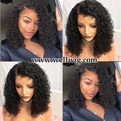 gorgeous 13x6 inch lace front human hair curly hairstyle