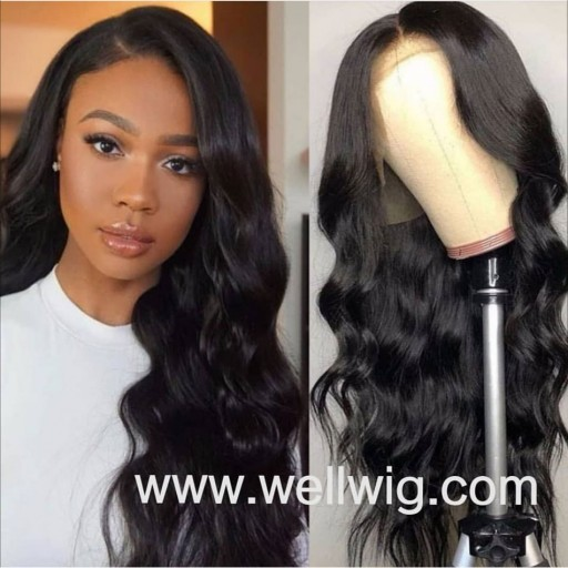 13*6 inch lace front wigs human hair soft wavy wigs