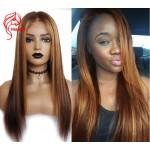 Hesperis Blonde Lace Front Wigs #30 Highlight #4 Brazilian Remy Lace Front Human Hair Wig Pre Plucked With Baby Hair