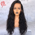 8A wavy Brazilian Human Hair Lace Front Wigs