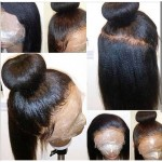 light yaki full lace wig human hair can be part everywhere