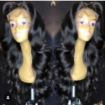 Gorgeous Wave Human Hair Lace Front Wig With Baby Hair