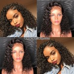 Gorgeous Curly Lace Front Human Hair Wigs