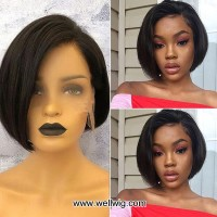 special sales 8 inch sexy lace front short bob cut human hair wigs