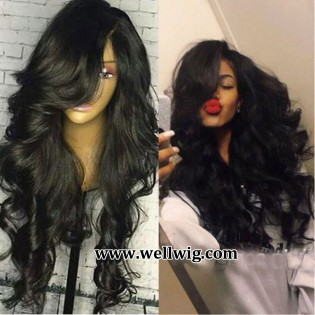 BODY WAVE BRAZILIAN HUMAN HAIR LACE FRONT WIGS