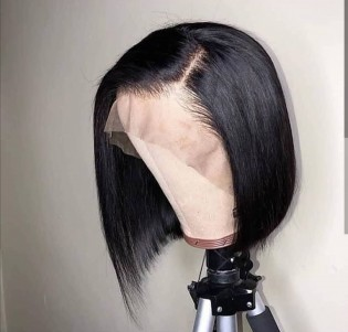 special sales 13*6inch sexy lace front short bob cut human hair wigs
