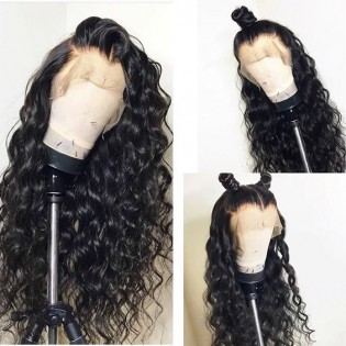 8A gorgeous human hair full lace curly hairstyle