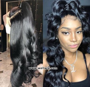 Full Lace wave Wigs Human Hair For Black Women