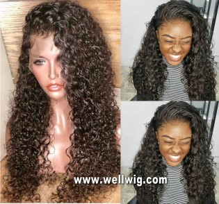hesperis wig curly 13*6inch lace front wig with natural baby hair
