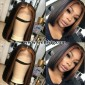 13*6inch lace front wig short bob highlight color hairstyle wigs